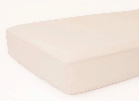 Natural Organic Cotton Fitted Crib Sheet